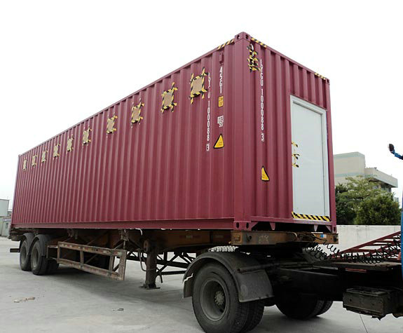 Saudi transformation container toilet